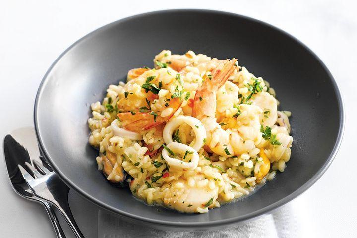 Recept voor visrisotto